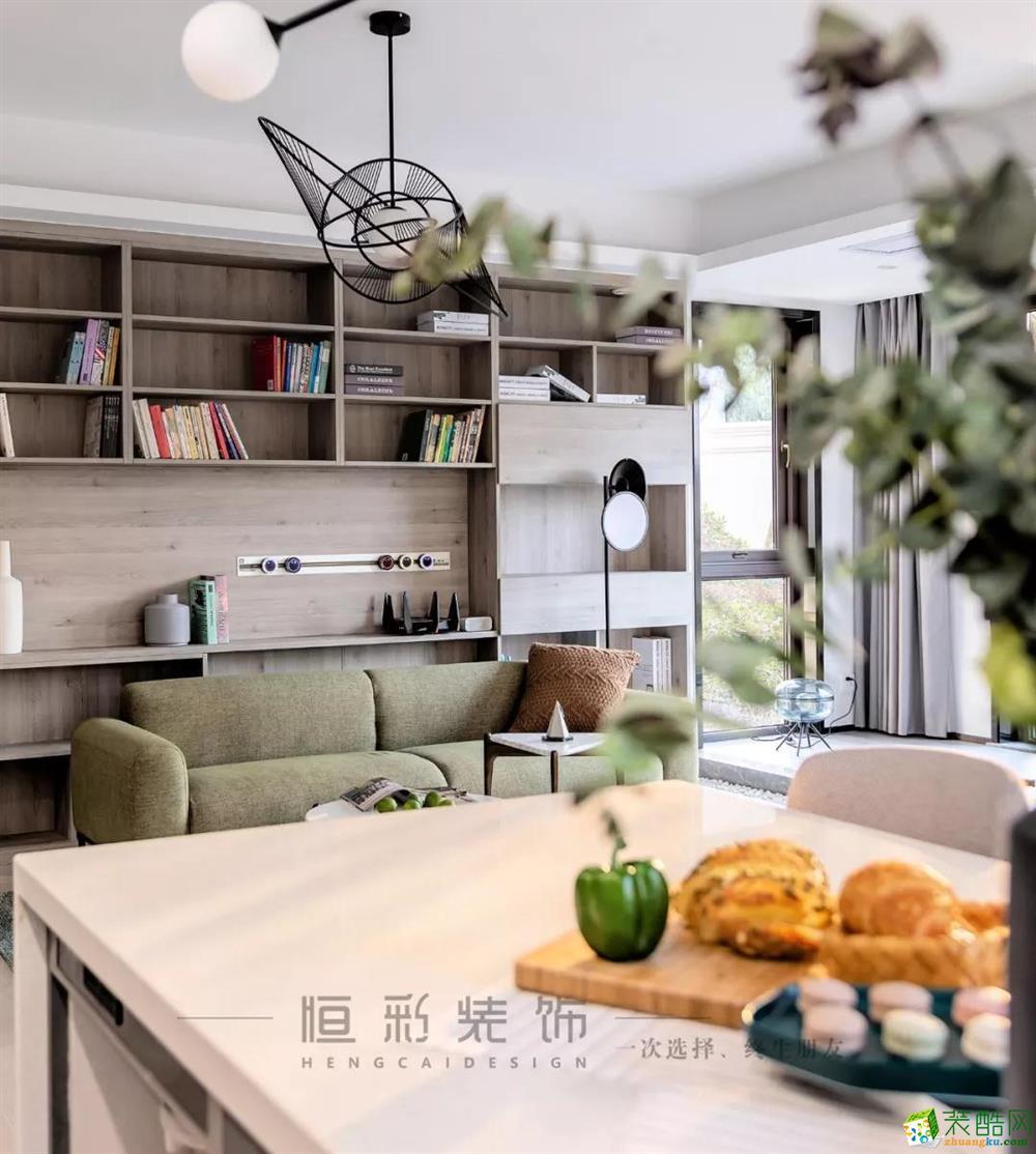 餐厅  【新湖菲林】89㎡北欧 | 客餐厨设计,140方既视感