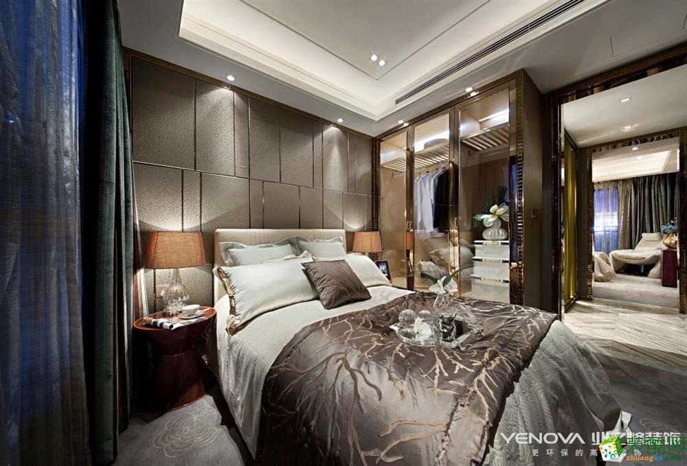 卧室 重庆四室两厅装修-保利香槟花园159平米现代风格装修效果图赏析-业之峰装饰 (业之峰-保利香槟花园)
