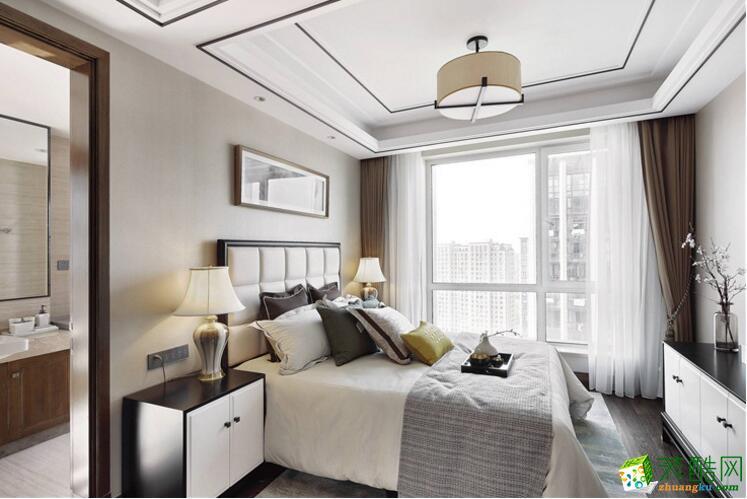 南宁四室两厅两卫装修―豪筑装饰180平新中式风格装修效果图