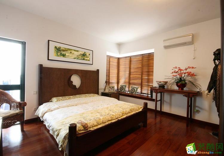 140平四居室新中式风格装修效果图