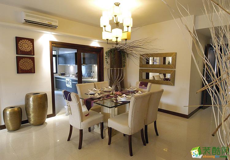 127平米三居室现代简约风格装修效果图
