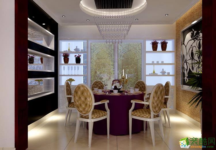 155三居室现代风格装修效果图