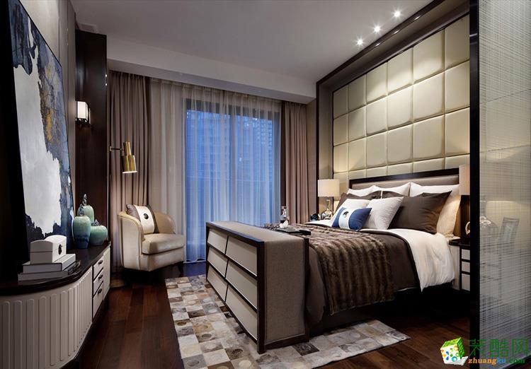 119三居室现代风格装修效果图