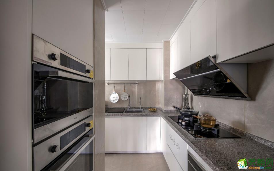 厨房  【云·浅悦】滇池?#27973;?100㎡三室简约风格装修效果图