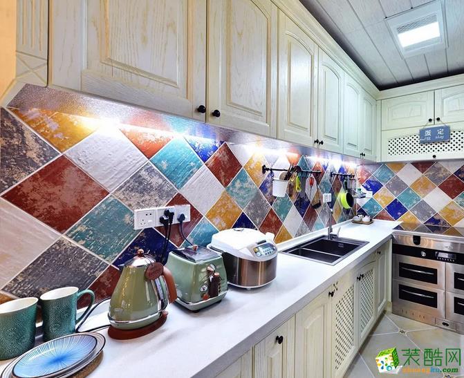 厨房  乾丰紫园73.49㎡现代式两室两厅案例