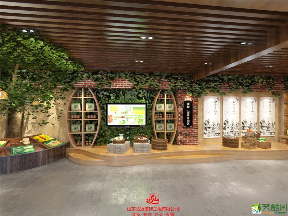 淄博三农农业展厅装修公司 淄博三农农业展厅设计公司