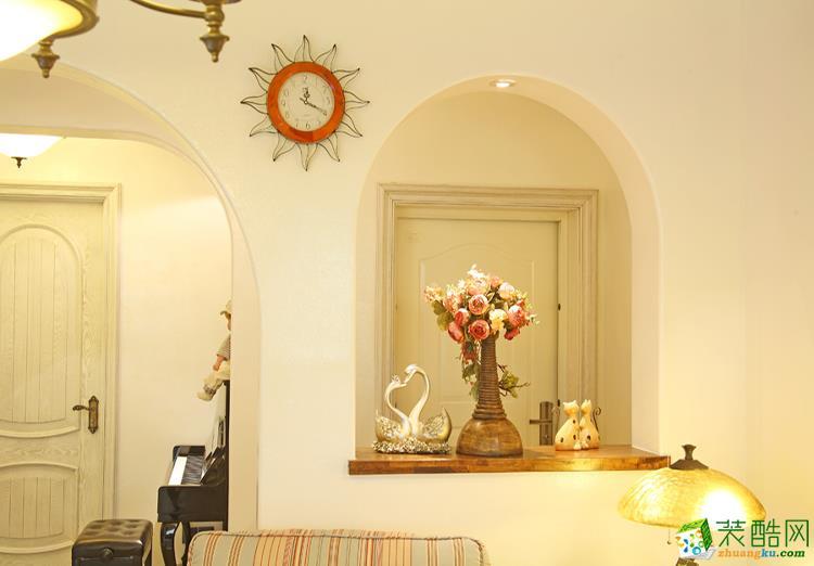 120平三居室地中海风格装修效果图