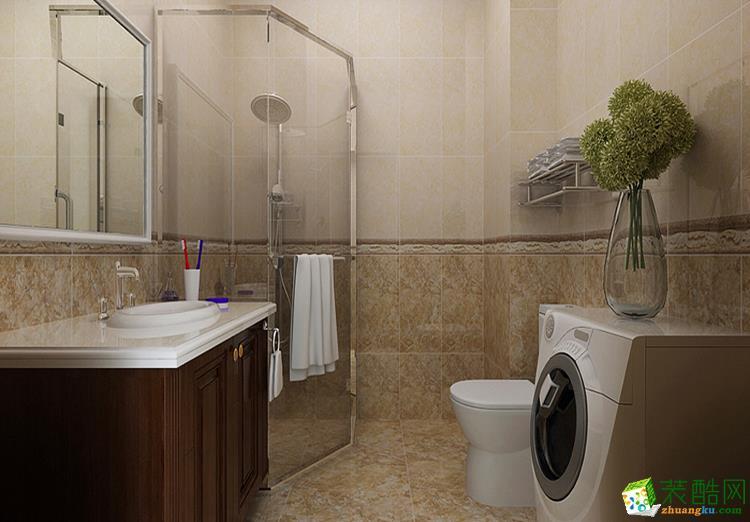 125平米三居室欧式风格装修效果图