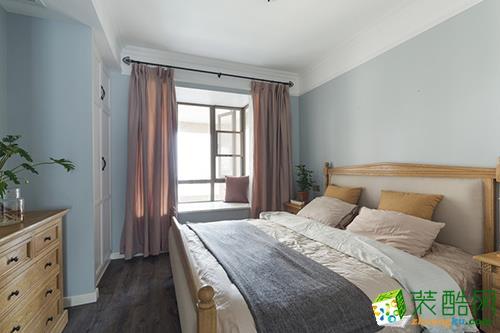 杭州80㎡两室一厅一卫简美风格装修设计效果图