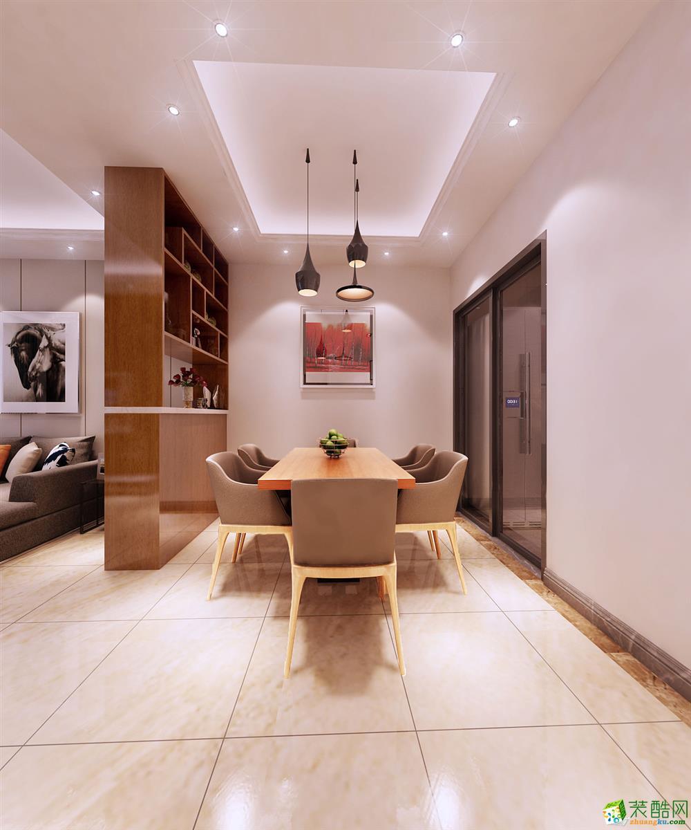 杭州88�O两室两厅现代简约风格装修设计效果图