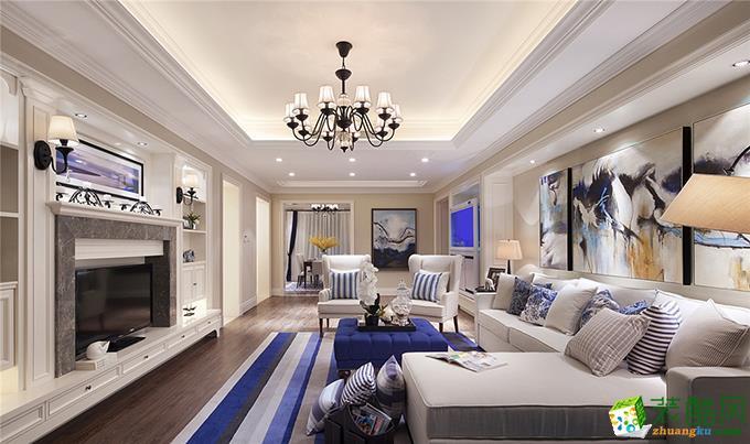 贵阳四居室180平米美式风格半包案例图