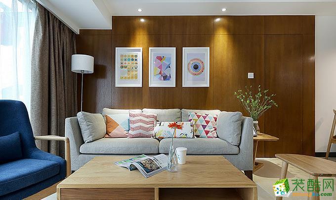 贵阳109平米三室两厅现代风格装修案例图