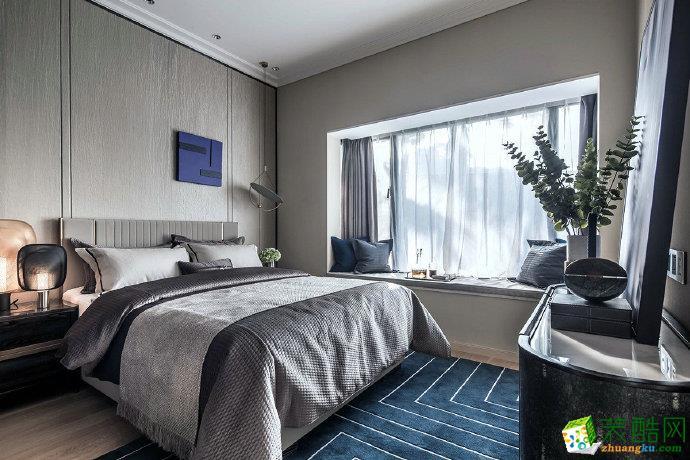重庆三室两厅装修-时尚现风格家居110平米装修效果图赏析-佳天下装饰