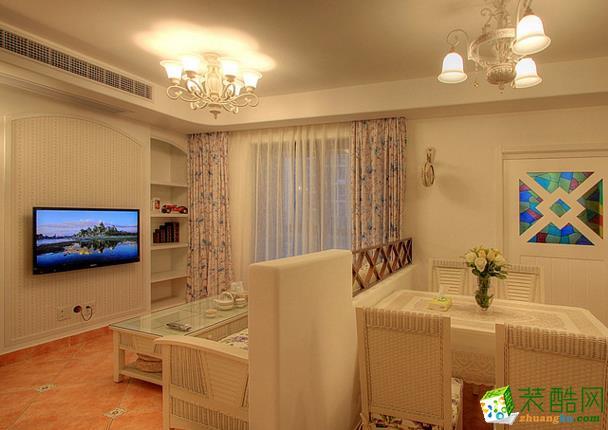 石柱琴笙裝飾-115平米韓式三居室裝修案例