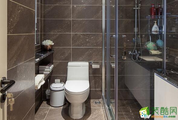 石柱庭雅装饰-90平米混搭两居室装修案例