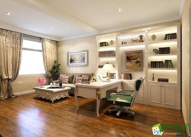 交换空间装饰120平欧式风格装修案例