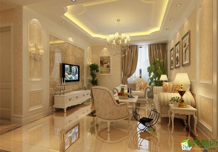 133三居室欧式风格装修效果图