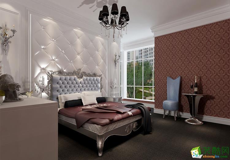 133平米三居室欧式风格装修效果图