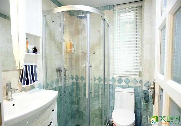 92平米三居室地中海风格装修效果图