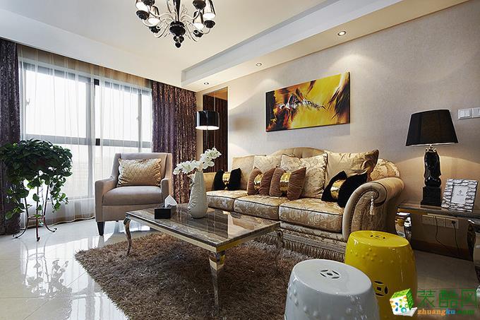 贵阳三居室95平米6.7万元装修图