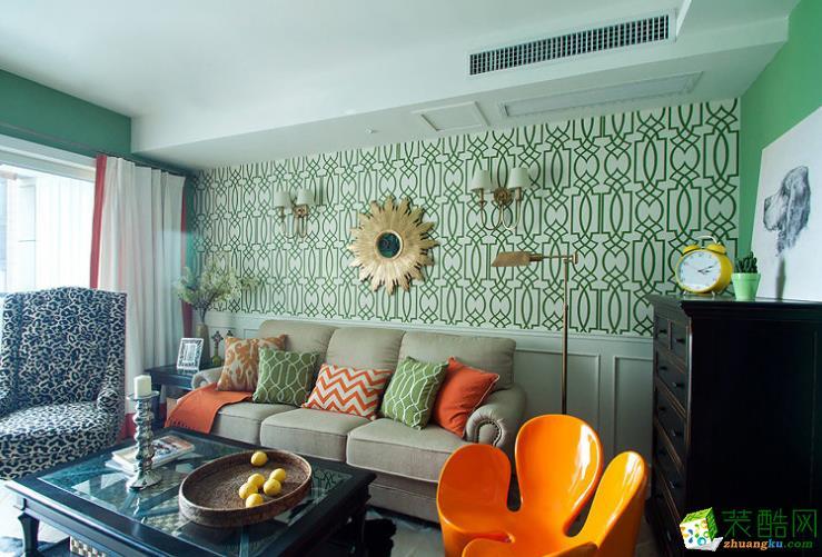 石柱润家装饰―90平现代美式风格装修案例