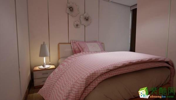 凯德西城90�O三室一厅一卫简约风格设计效果图