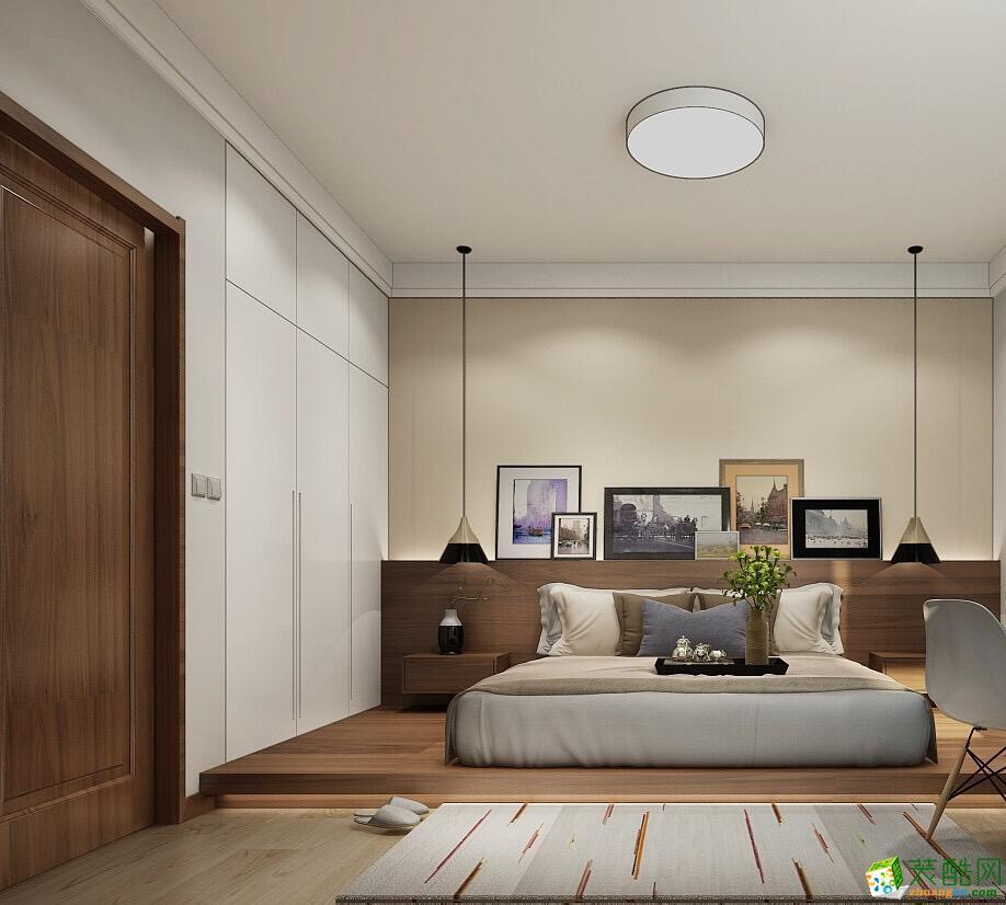 郑州两室一厅一卫装修―龙湖骏景70平现代风格装修效果图