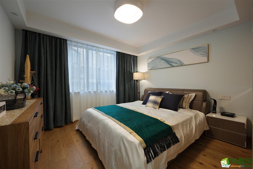 紫金家园130平三室两厅两卫北欧风格装修设计效果图