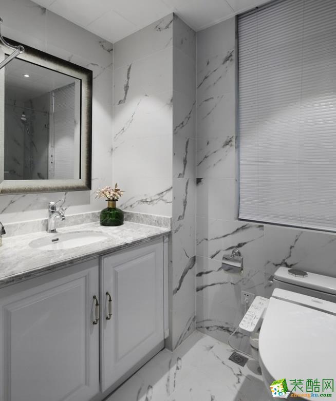 卫浴  【创艺装饰】150㎡美式风格装修效果图