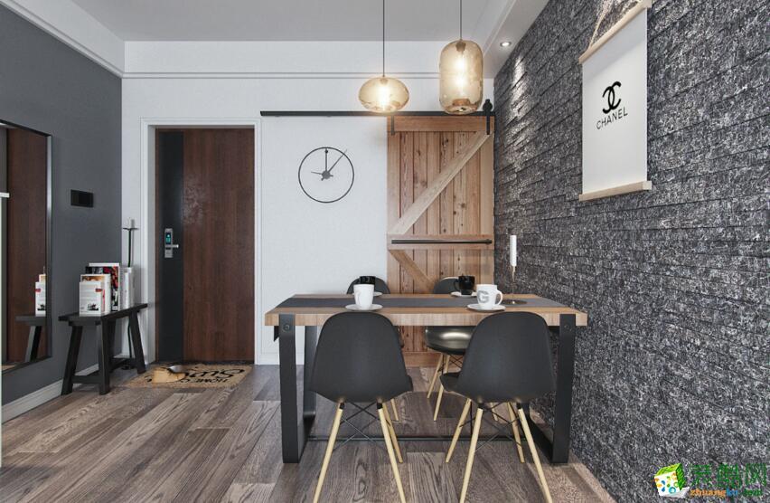 桂林两室两厅一卫装修―木和装饰75平现代简约风格装修效果图