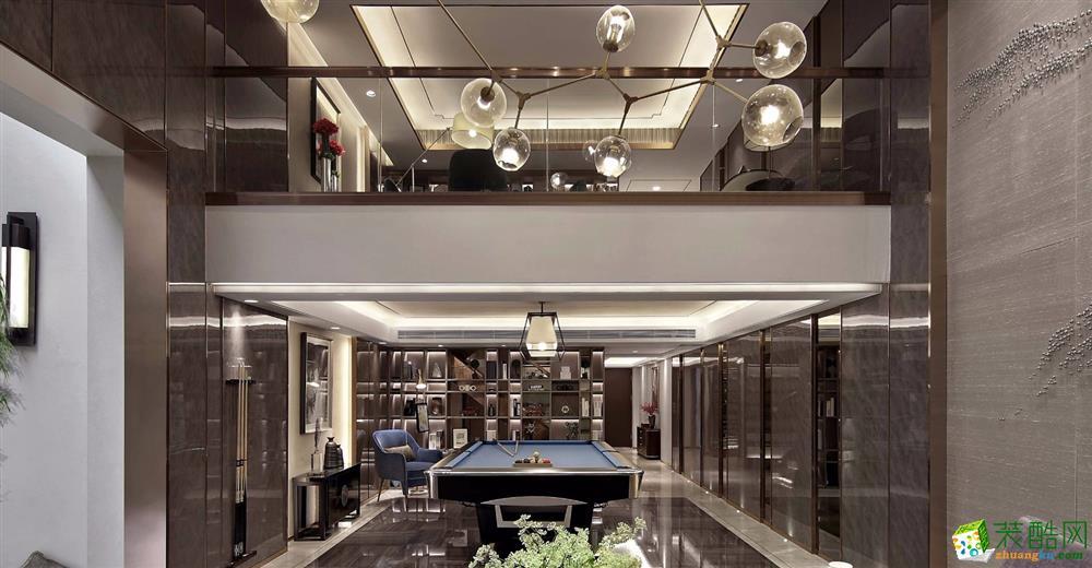 重庆四室两厅装修-港式风格140平米装修效果图-熙悦汇装饰