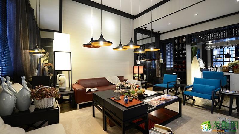 重庆三室两厅装修-120平米现代风格装修效果图-熙悦汇装饰