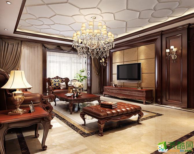 万州昌瑞装饰―130平中式风格装修案例