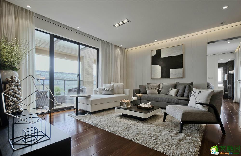 歐雅裝飾-合生杭州灣國際新城90平兩室兩廳一衛