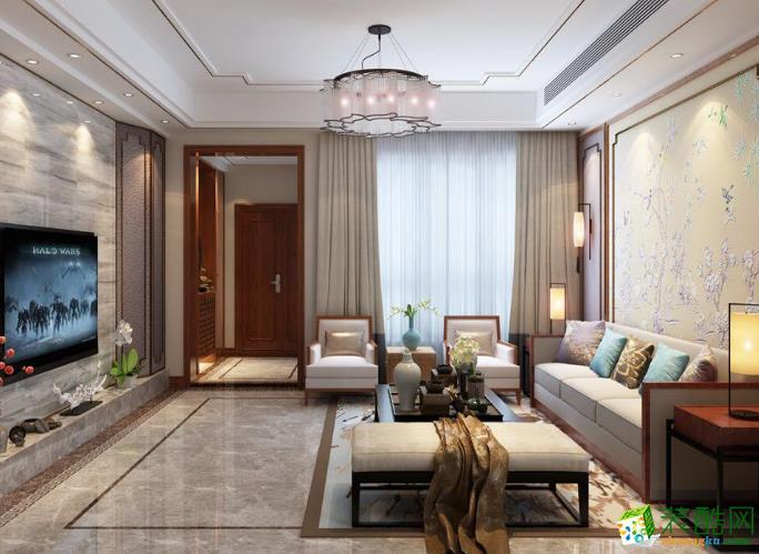 重庆瑞久装饰―120平中式风格装修案例