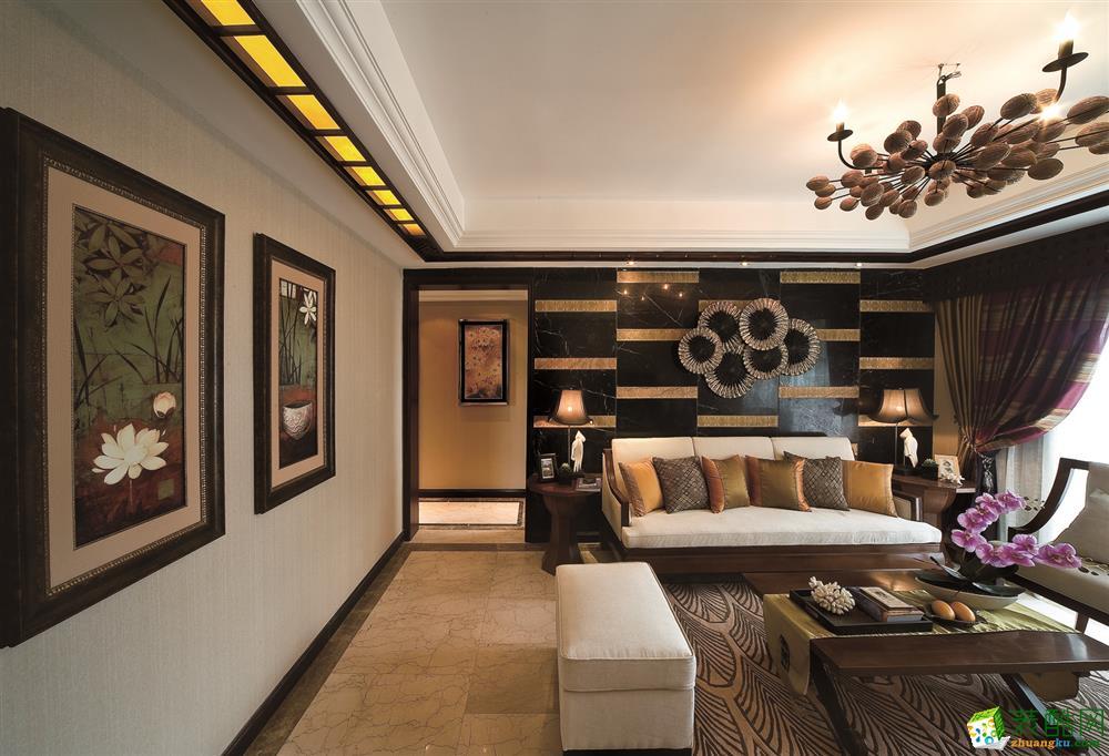 诚然装饰-林肯公园东南亚风格150平装修案例效果图