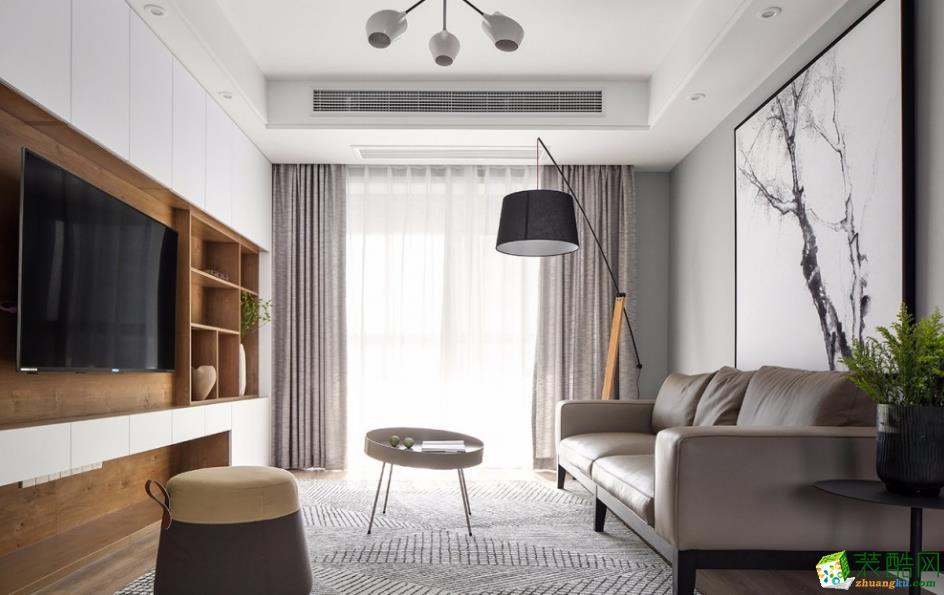 【喜客喜裝飾】95㎡三居室簡約風格裝修效果圖