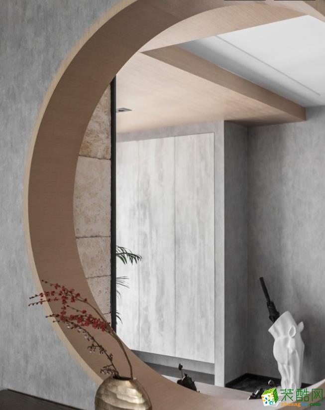 隔断  【喜客喜装饰】280㎡四室新中式风格装修效果图