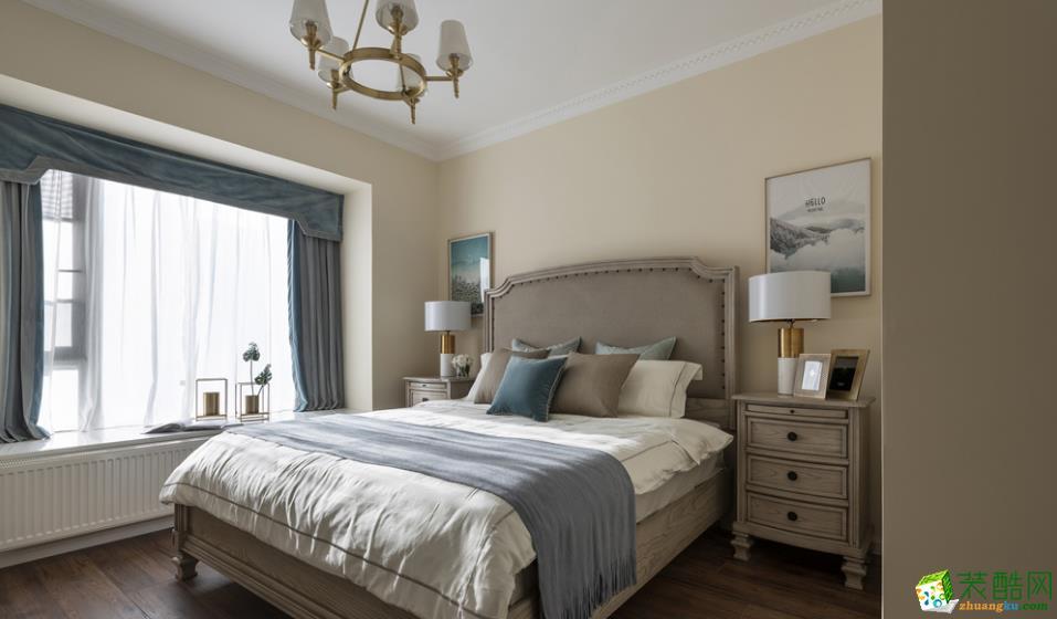 卧室  【居立方装饰】-140㎡三居室美式风格装修效果图