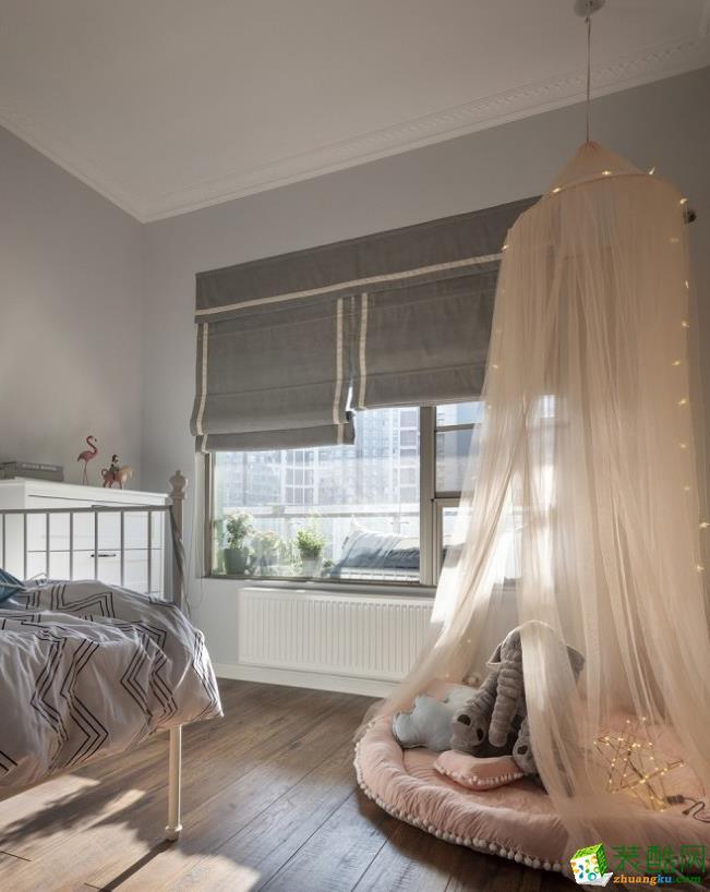 儿童房  【居立方装饰】-140㎡三居室美式风格装修效果图