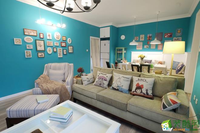 新华联青年城170�O四室两厅美式风格设计效果图