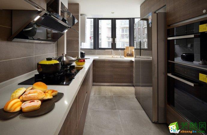 汇悦天地90�O简约风格两室两厅两卫设计作品