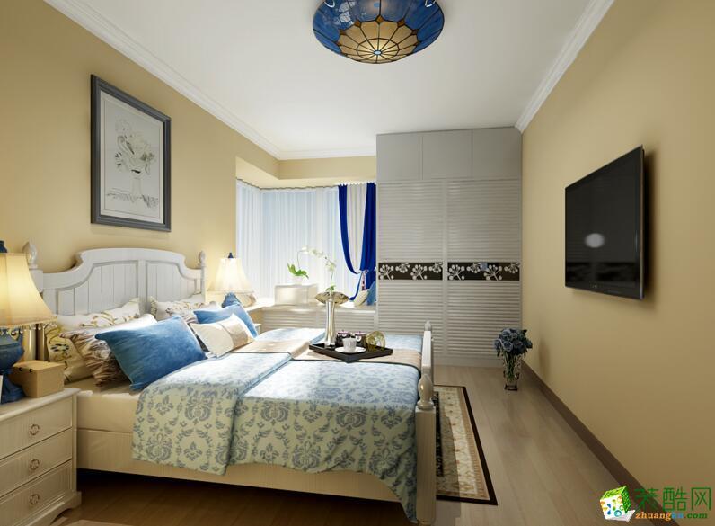 石家庄两室一厅一卫装修—积木家装饰75平地中海风格装修效果图