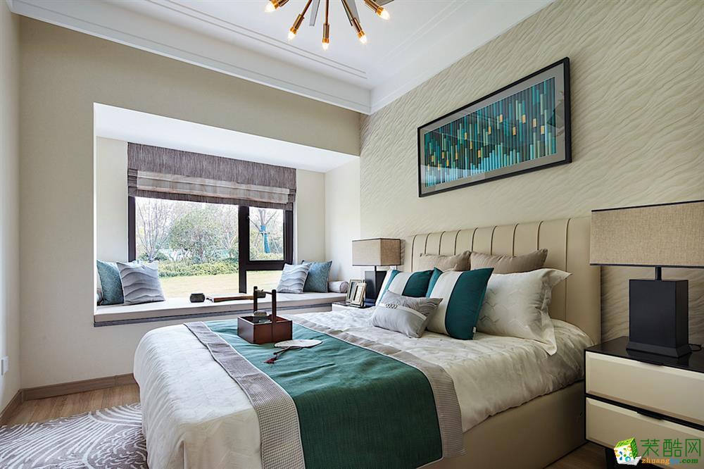 南通120�O法式风格三室两厅设计作品