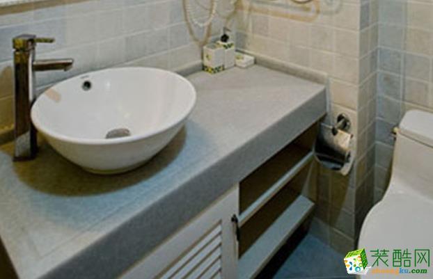 乐山龙发装饰-120平米欧式三居室装修案例
