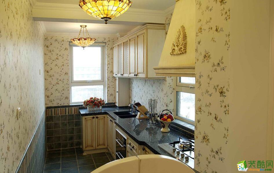 南宁两室一厅一卫装修―大亨装饰75平田园风格装修效果图