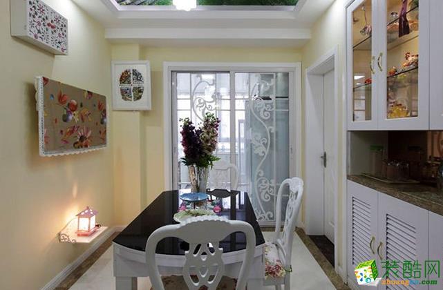 无锡锦华装饰-118平米田园两居室装修案例