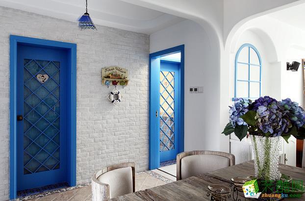 无锡金钥匙装饰-125平米地中海三居室装修案例
