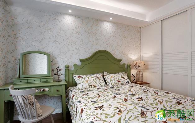 无锡金钥匙装饰-90平米简欧两居室装修案例