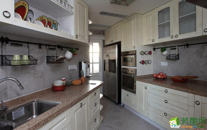 济南万泰装饰-125平米简欧三居室装修案例